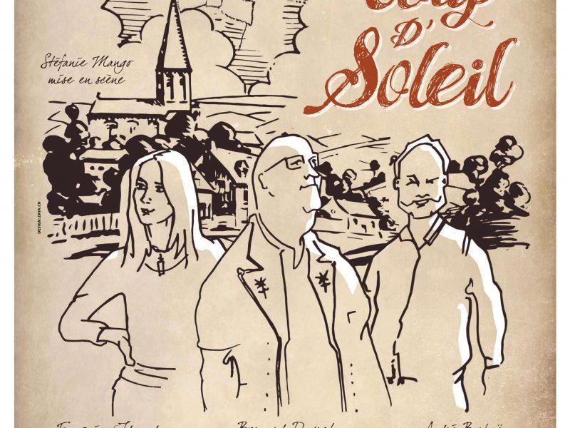 Trio Coup d'Soleil le 30 juillet au Petit théâtre 1603